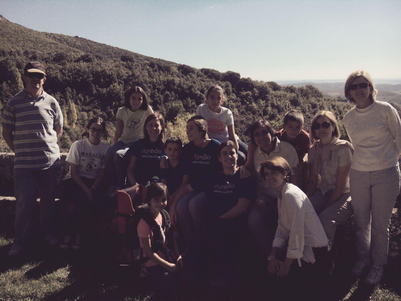 Excursión familiar de Ayedo